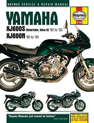 Haynes Manual XJ600N,XJ600 Diversion 92-03 Each