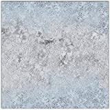 Arctic Battle Lines Wargaming Play Mat – 36x36 Inch Table Top Roleplaying and Miniature Battle Game Mat Great for Warhammer 40k Star Wars Minis Warmachine Polyester with Anti-Slip Rubber Backing
