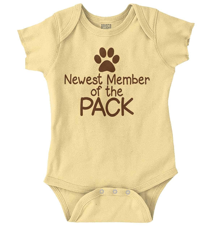 10f298b96 Amazon.com: Newest Member Pack Funny Pet Family Newborn Romper Bodysuit:  Clothing