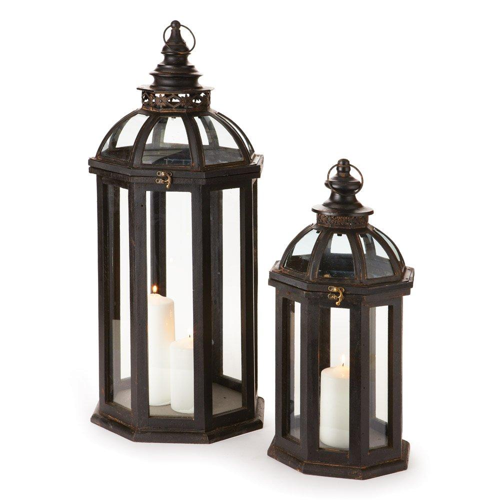 Porch & Petal Chapelle Lanterns, Set of 2