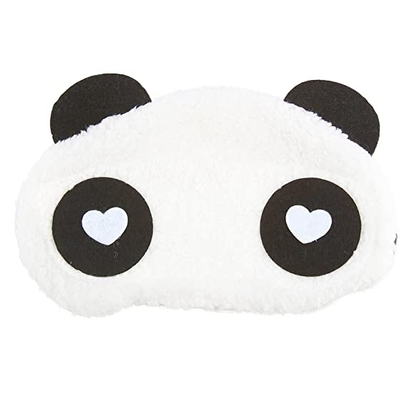 7bb342747a8 Jenna WH Dot Panda Travel Sleep Cover Blindfold Pack of 2 2 g Best ...