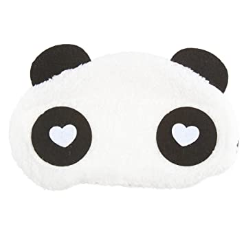 53ccafd58e1 Buy Jenna WH Panda Sleeping Eye Mask Online at Low Prices in India -  Amazon.in
