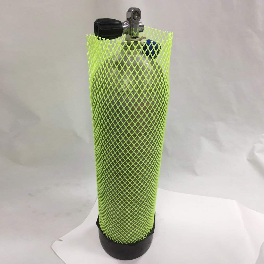 Anti-Scratch Snorkeling Cylinder Net Protector Reusable Dive Tank Protective Sleeve SM SunniMix Reliable Scuba Diving Tank Mesh