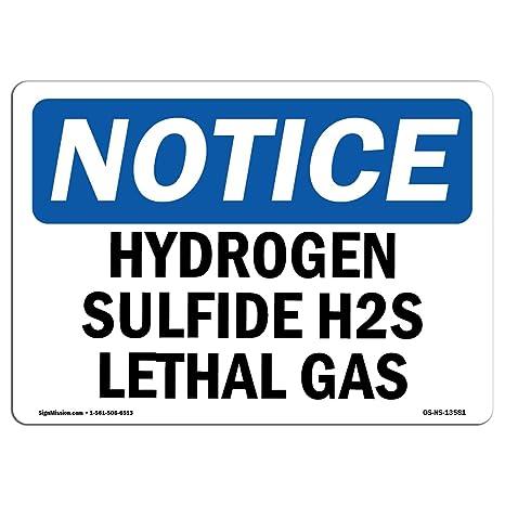 Amazon.com: OSHA aviso   Letrero De Heavy Duty cartel o ...