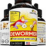 Dewormer for Dogs and Cats Broad Spectrum Worm Treatment for Pets &...