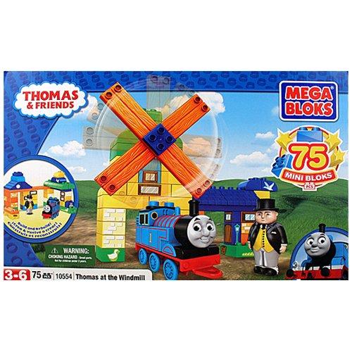 Mega Bloks Thomas & Friends Thomas At the Windmill Set  - 75 Pieces