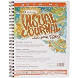 Strathmore 400 Series Visual Drawing Journal, 9''x12'' Medium Surface, Wire Bound, 42 Sheets