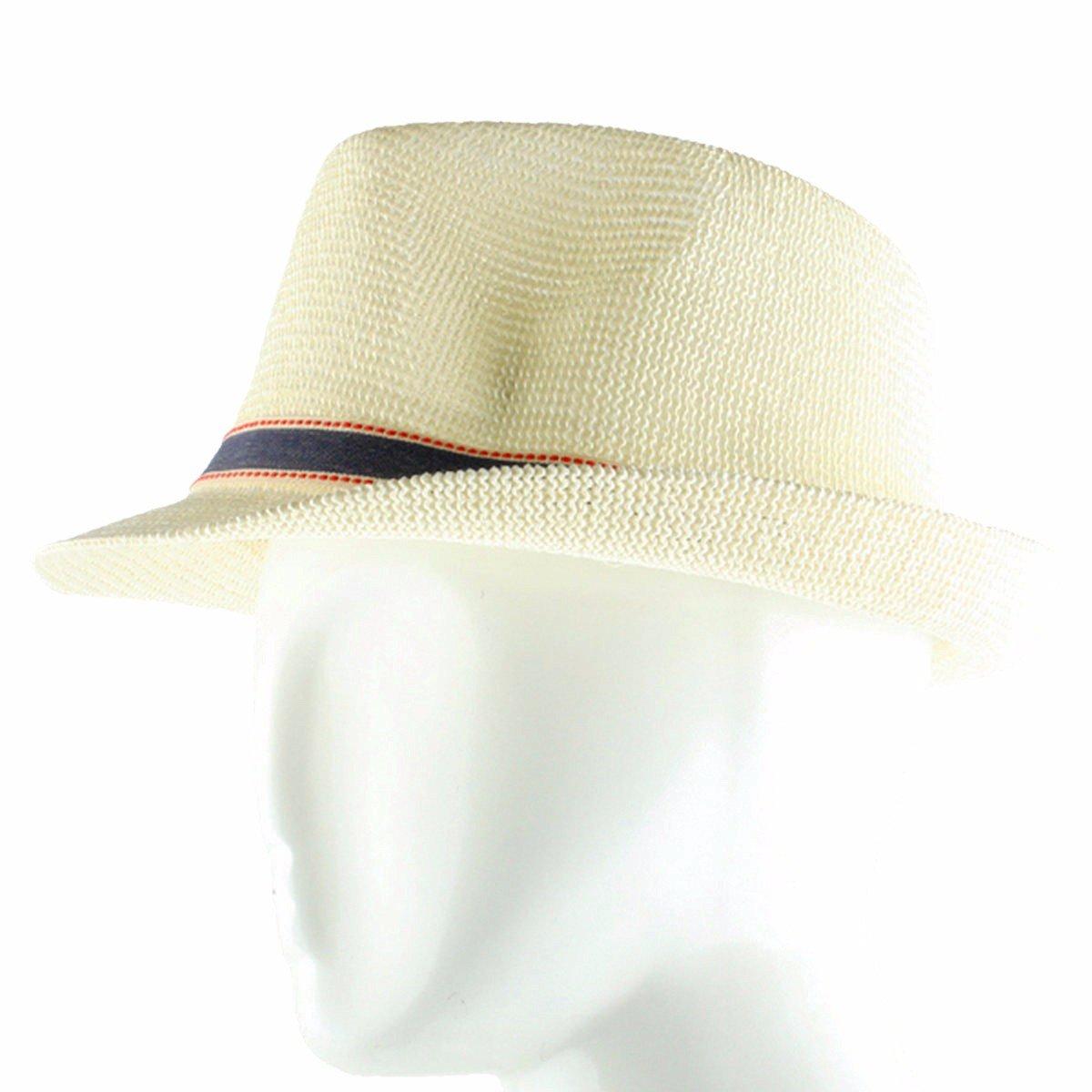 af56701cf8b373 Samtree Fedora Hats for Women Men,Beathable Straw Panama Hat AM0401-2
