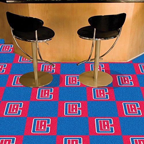 Fanmats NBA - Los Angeles Clippers Team Carpet Tiles