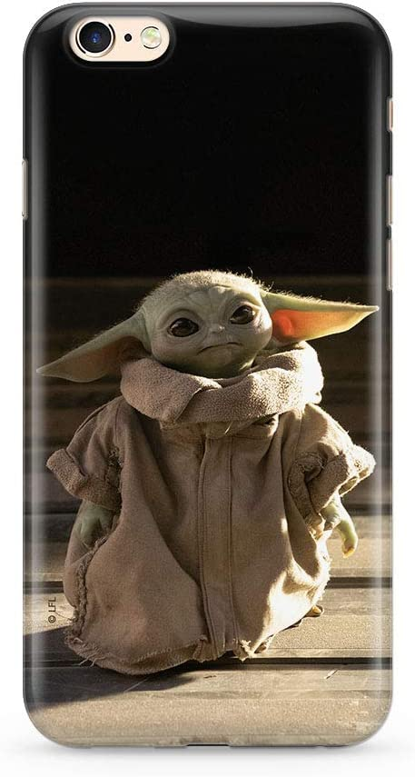 Original Star Wars Baby Yoda TPU Case for iPhone 6, iPhone 6S, Liquid Silicone Cover, Flexible and Slim, Protective for Screen, Shockproof and ...