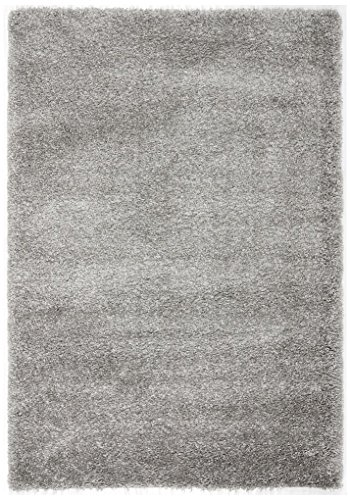 Safavieh California Shag Collection SG151-7575 Silver Area Rug (8' x - La Malls In California