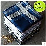 CCNN Home 5pcs/Lot 4040cm de Grosor 100% algodón luz Color Macho a Hembra pañuelo los Hombres de Las Mujeres