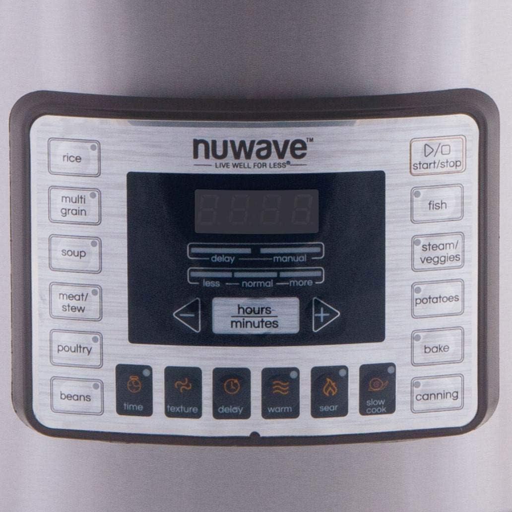 Main 2 - NuWave 33501 Nutri-Pot Digital Electric Pressure Cooker, 13 Quart, 1800W - CBS BAHAMAS LTD