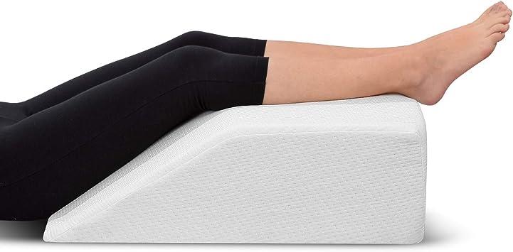 Amazon.com: Almohada de elevación de piernas, con ...