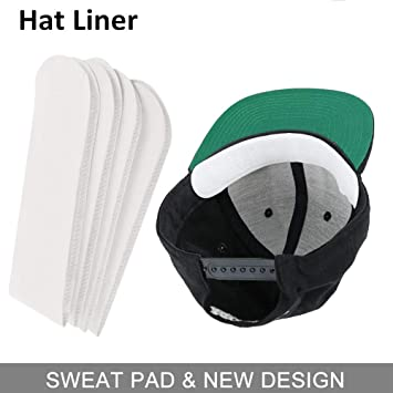 Amazon.com  Anti Sweat Hat Liner Cap Protection - Neck Sweat Pad Hat ... 205bb366bd3