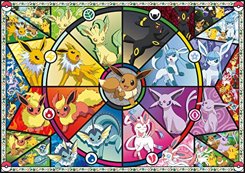 Buffalo Games - Pokémon - Eevee's Stained Glass - 500 Piece Jigsaw Puzzle