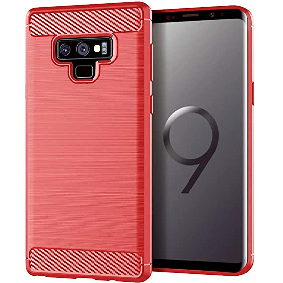 premium selection 7a39a efa8f Moment Dextrad for Note 9 Case,Anti-Fingerprint Protective Bumper Soft TPU  Cover with Shock-Absorption and Carbon Fiber Design for Samsung Galaxy Note  ...