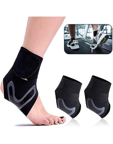 MCDAVID Fußgelenkstütze Ultralite mit StrapKnöchelschutz zum Binden für Sport