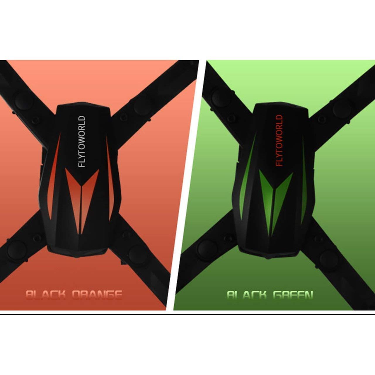 Jasnyfall F12W Mini Selfie WiFi FPV Faltbare Drone 0.3MP Einstellbare Einstellbare Einstellbare Kamera Altitude Hold Schwarz Grün 7a281b
