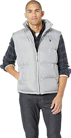 U.S. Polo Assn. Hombre Chaleco de plumón - - X-Large: Amazon.es ...