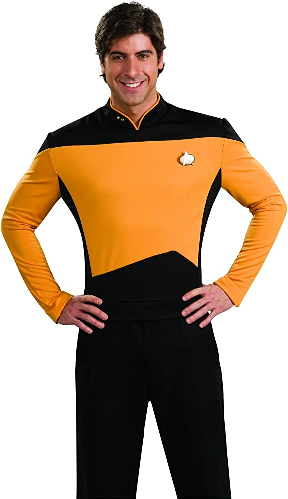 Amazon.com: Playera para disfraz de Star Trek The Next ...