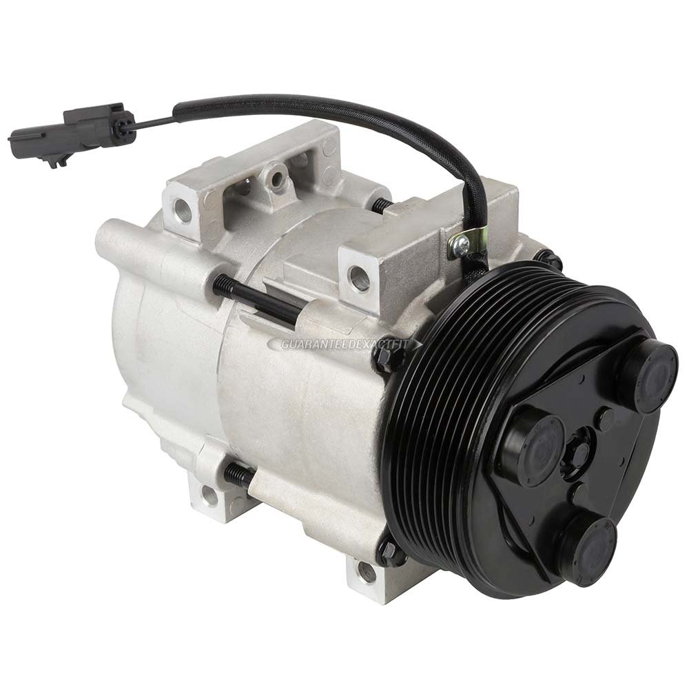 AC Compressor /& A//C Clutch For Dodge Ram Cummins 6.7L Diesel 2007 2008 2009 BuyAutoParts 60-01812NA New