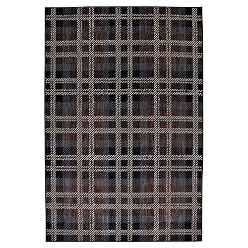 en Billings Woven Rug, 8'x11', Black ()