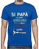 Green Turtle Camiseta para Hombre - Si Papá no Puede Nadie Puede - para Papá en el Día del Padre