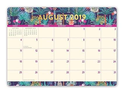 Calendario De Agosto 2020.Orange Circle Studio 2020 Calendario Decorativo Para Computadora