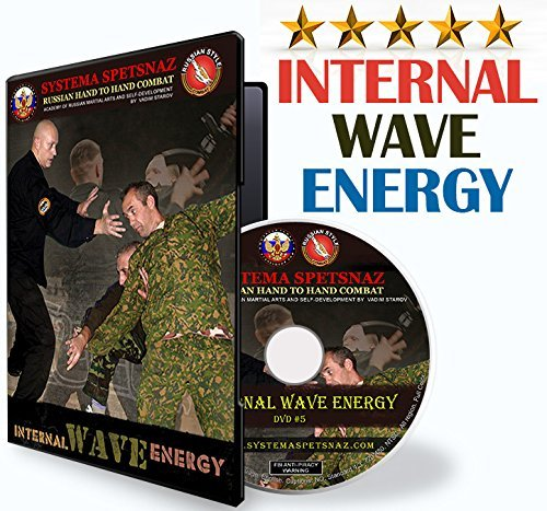 Russian Systema Spetsnaz DVD - Internal Wave Energy. Russian Martial Arts Hand-to-Hand Combat DVD - Self Defense Training (Best Martial Arts For Hand To Hand Combat)