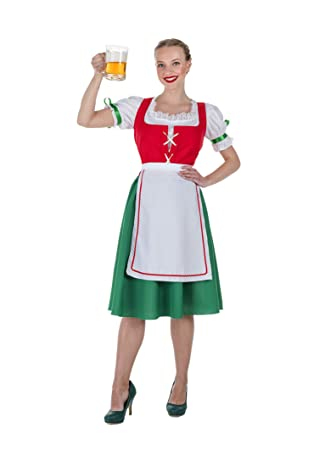 Banyant Toys Disfraz Oktoberfest Rojo Mujer: M-L: Amazon.es ...
