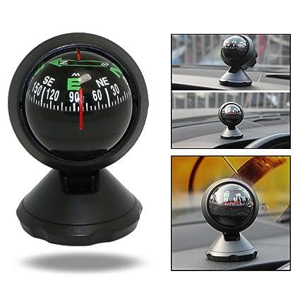 Self-suction Compass Ball for Boat Navigation Sailing Car Caravan Decor