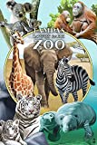Tampa's Lowry Park Zoo, Florida - Wildlife Montage (24x36 Collectible Giclee Gallery Print, Wall Decor Travel Poster) offers