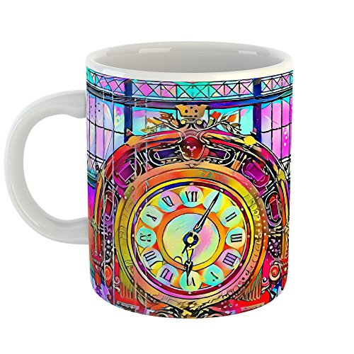Westlake Art - Muse D'Orsay - 11oz Coffee Cup Mug - Abstract Artwork Home Office Birthday Christmas Gift - 11 Ounce (A7D1-6A2FB) (Mugs Promotional Ceramic)