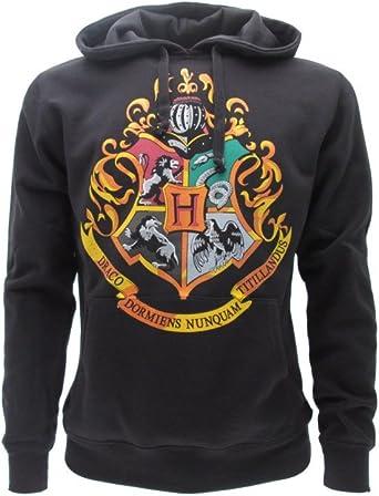 100/% Officiel Warner Bros Harry Potter Sweat A Capuche Hoodie Blason SERDAIGLE Maison Ravenclaw L Large