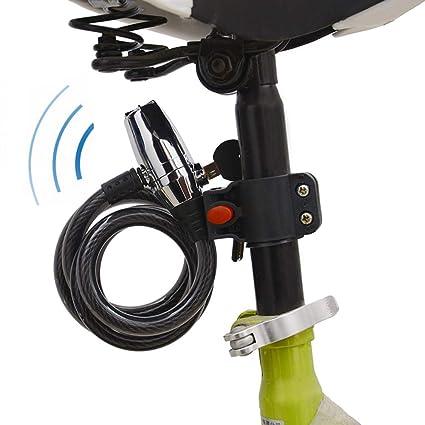 CARACHOME Candado Moto Alarma, Alarma Sonora 110 dB ...