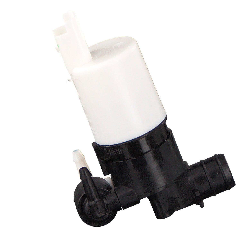 1 St/ück Wischwasserpumpe f/ür Scheibenreinigungsanlage febi bilstein 24633 Waschwasserpumpe 12 Volt