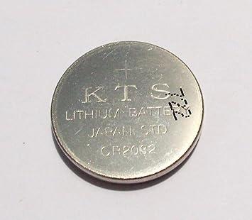 KTS 722 Litio Batería CR2032 CR 2030 3 Volt 3V para la Placa Madre del Ordenador Portátil de la Lámpara: Amazon.es: Electrónica