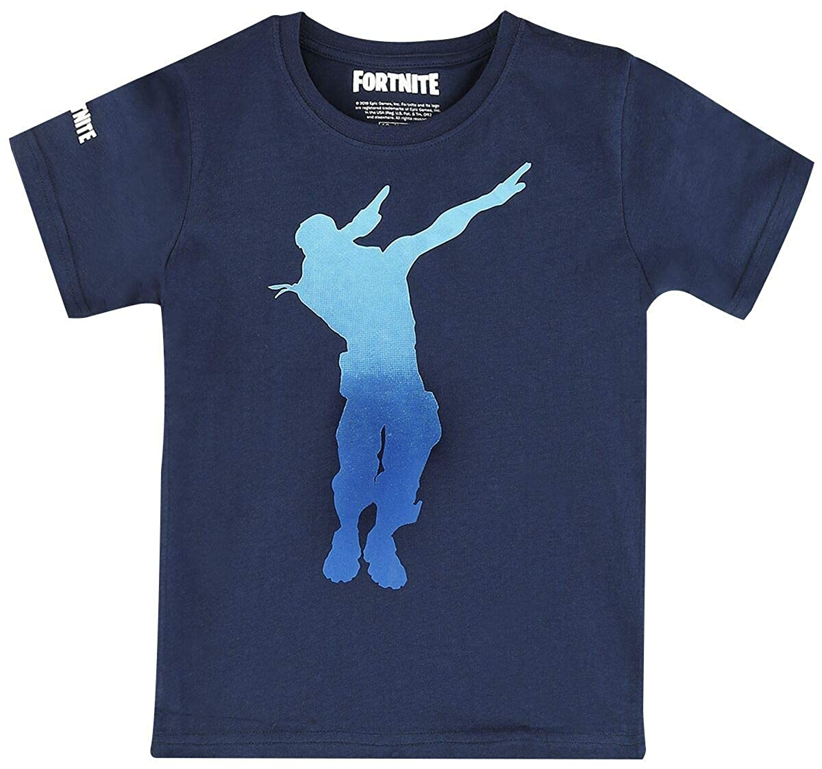 Fortnite Dab Dance T-Shirt Blu Navy