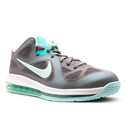 save off 25722 a731d NIKE Lebron 9 Low Easter Mens Basketball Shoes Dark Grey Mint Candy-Cool  Grey-New Green 510811-001-11.5