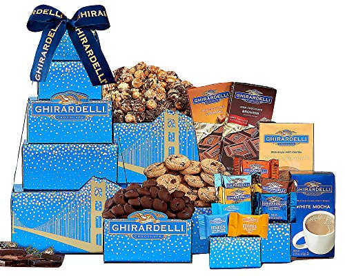 Wine Country Gift Baskets Deluxe Ghirardelli ()
