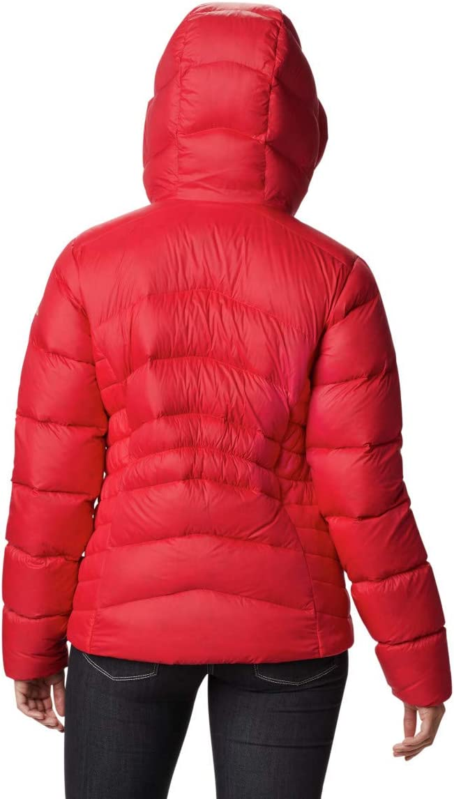 Columbia Womens Autumn Park Down Hooded Jacket Autumn Park Down Hooded Jacket