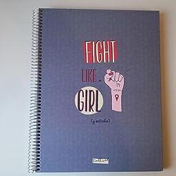 LLIBRETA TALKUAL A4 LILA-GIRL CAT: Amazon.es: Oficina y papelería