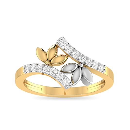 PC Jeweller The Dorothee 22KT Yellow Gold Rings Women's Rings