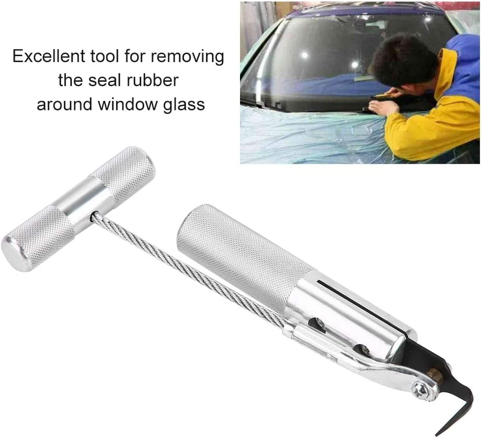 Kimiss Car Professional Windschutzscheiben Entfernungswerkzeug Windschutzscheiben Entferner Windschutzscheiben Glasmesser Abbau Schneidwerkzeug Windschutzscheibenwerkzeug Auto
