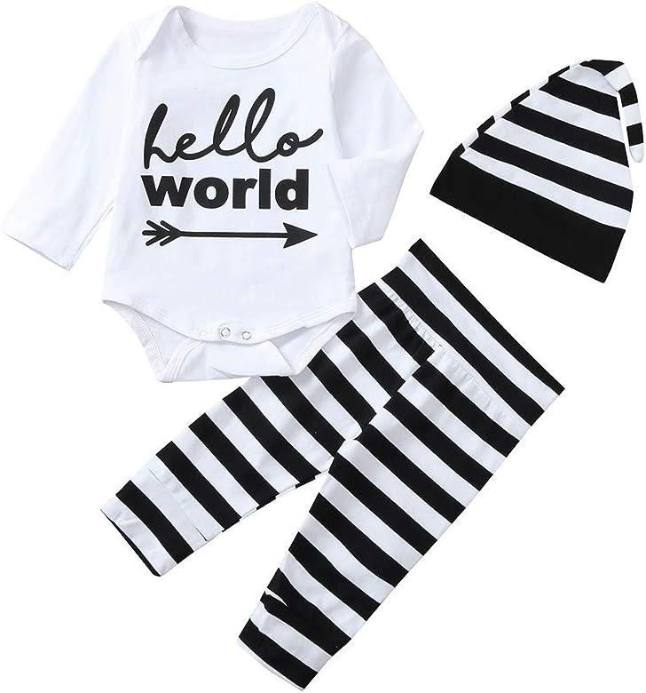 K-youth Ropa Bebe Nino Invierno Ofertas Hello World Infantil Recien ...