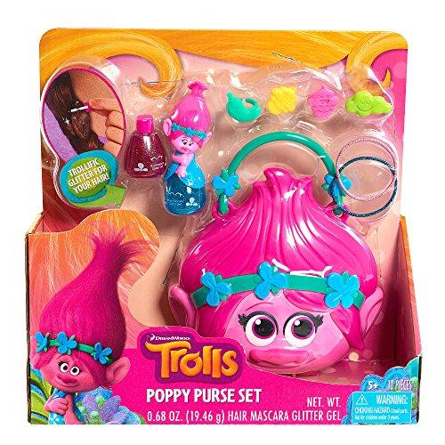 [Just Play Trolls Cosmetic Purse Playset] (Barbie Costume Makeup)