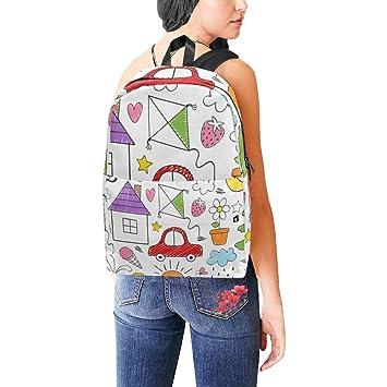 Amazon.com: Mochilas de colores para niños con dibujo de ...