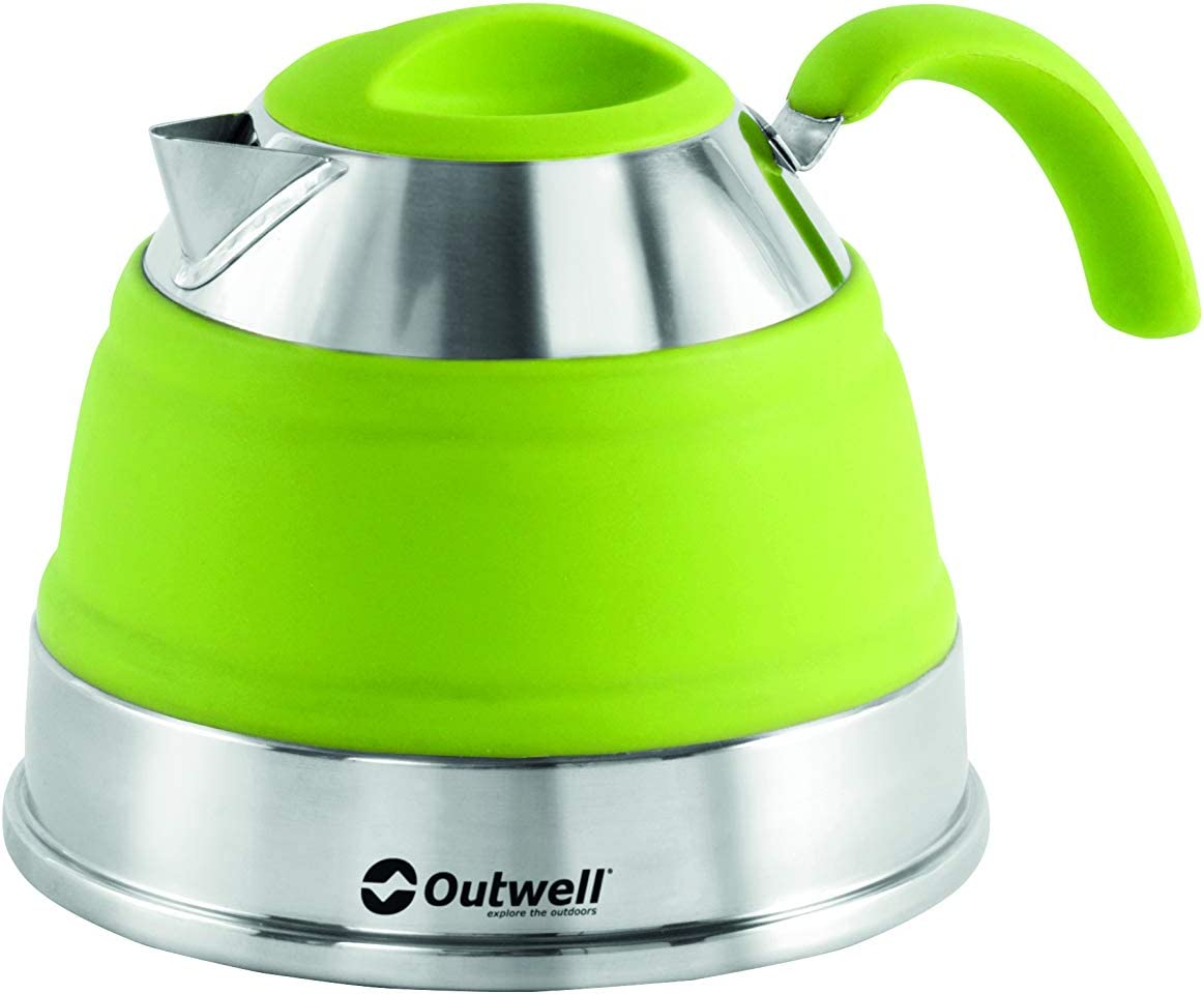 OUTWELL COLLAPS KETTLE 1.5L OR 2.5L collapsible camping campervan folding
