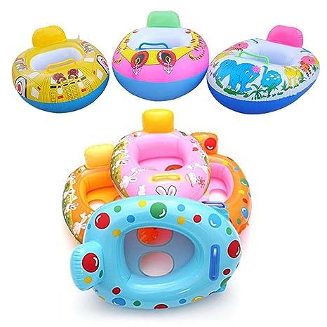 UxradG Asiento hinchable para piscina, para niños, piscina, ayuda ...
